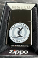 Eddie Vedder 2019 Ohana Festival Fest New Zippo Lighter Pearl Jam