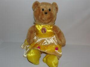 "Rare 18"" Disney Animal Alley BELLE Beauty Beast Princess Teddy BEAR Plush  (48b)"
