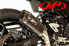 2018 Kawasaki Ninja 400 M4 X-96 Carbon Fiber High Performance Slipon Muffler