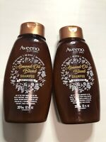 Aveeno Almond Oil Blend Shampoo Deep Hydration 12 Fl Oz Each