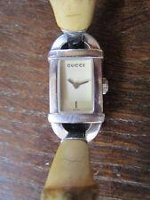 MONTRE GUCCI - BRACELET BAMBOU - 6800 L - MONTRE FEMME VINTAGE