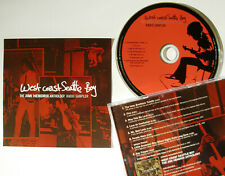 RARE West Coast Seattle Boy: The Jimi Hendrix Anthology Radio Sampler NEW CD