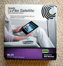 NEW SEAGATE GOFLEX SATELLITE MOBILE HD WIRELESS 500 GB HARD DRIVE USB 3.0 Wi -Fi