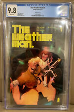 The Weatherman #1 1:25 Matteo Scalera Variant Cover CGC 9.8 Image Comics 2018