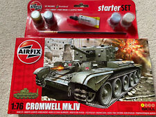 NEW AIRFIX KIT CROMWELL MKIV CRUISER TANK. SCALE 1:76