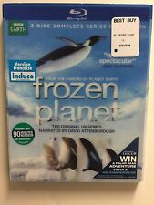 Frozen Planet: The Complete Series (Blu-ray, 2011, 4-Disc) NEW w/slipcover
