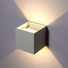 Applique a cubo con LED 2700K Bianco Caldo Lampada di Colore bianco da parete