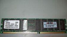 Barrette mémoire SAMSUNG 512Mo PC2100R-25330 CL2.5 ECC HP PN: 261584-001