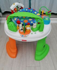 Fisher Price twirlin whirlin entertainer activity centre bouncer baby