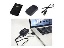 USB Ladegerät für Panasonic Lumix DMC-L1 DMC-LC1 DMW-BL14