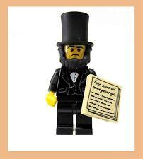 Lego Movie Sealed Abe Lincoln Gettysburg Address 71004 Minifigure Abraham Tuxedo