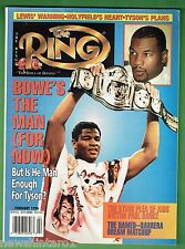 #BB.  THE RING BOXING MAGAZINE, FEBRUARY 1996