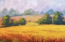 "Marilyn ""Nan"" Fiegl NY (1927 – 2017) Sig No. edition 24 x 36 Wheatfield 22/200"