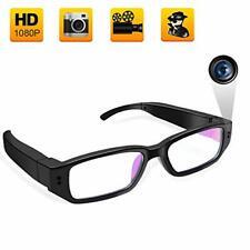 UYIKOO Portable Hidden Spy Camera Glasses  1080P  with Video & Audio