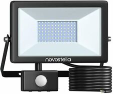 ***** 60W Security LED Lights Outdoor Motion Sensor Novostella PIR LED *****