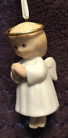 Vintage 1995 Christmas Ornament Hallmark Angel Bells Collection Joy Bell Girl