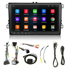 """9"""" 2Din HD Stereo Radio GPS Player Android 8.0 Wifi RDS For VW Golf Polo Skoda"""
