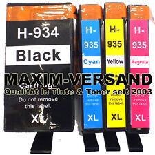 4 Cartucce per HP 934 XL + HP 935 XL OFFICEJET 6812 6815 6820 6822 6825 Pro 6835