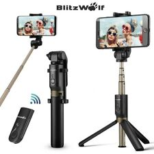 BlitzWolf BW-BS3 3 in 1 bluetooth Remote Extendable Folding Selfie Stick Tripod
