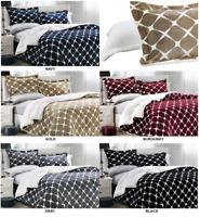 3-Pc Premium™ Quality Bloomingdale Sherpa Reversible Down Alternative Comforter