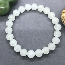 AAA+ Rare Quality Natural Bracelet, White Selenite Bracelet, Handmade Jewelry