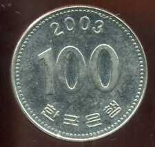 COREE DU SUD  100  won  2003