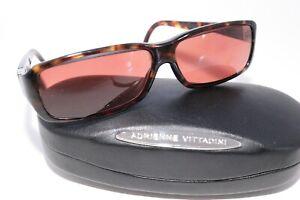 Adrienne Vittadini Eyeglasses Sunglasses Frames 1530/41 Amber Tortoise AV5024S