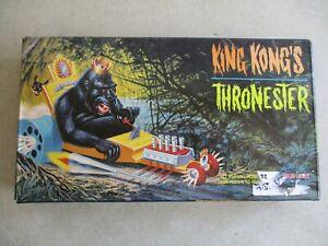 VTG 1998 KING KONG'S THRONESTER POLAR LIGHTS MODEL KIT IN BOX 5016