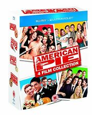 American Pie Film Collection Blu-ray 4 Disc BOXSET 2013 Region 2