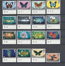 BRITISH SOLOMON ISLANDS 1972-73 SG 219/33A MNH Cat £38