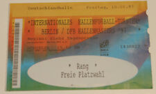 ticket DFB Hallenmasters 1997 Berlin Bayern Hertha Crvena zvezda Bochum Gladbach