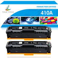 2PK Toner Cartridge Compatible for HP 410A CF410A LaserJet Pro MFP M477dw M452dn