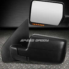 FOR 04-14 F150 POWER+HEATED+LED SIGNAL LIGHT REAR VIEW TOWING TOW MIRROR LEFT