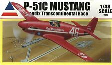 Accurate Miniatures P-51C Mustang Bendix Race 2 Version aircraft model kit 1/48