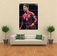 Sergio Ramos Football Giant Wall Art Poster Print