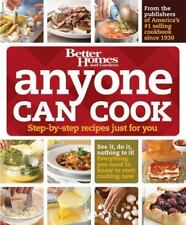 Better Homes and Gardens : Anyone Can Cook : Step-by-Step Recipes Binder Format