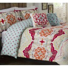 Vue Ellery Milo Reversible 3 Piece Comforter Set – FULL QUEEN -NEW Shams Multi