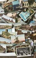 Vintage Postcards Over 100 Travel Historic Mail Family Friends Stamps Write