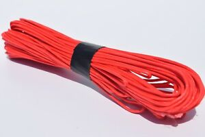 1.5mm*20m Red Kitesuring Kine,Synthetic Rope UHMWPE Core with UHMWPE Jacklet