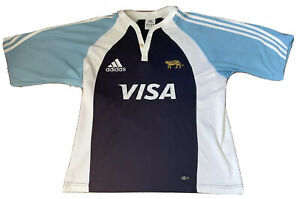 ARGENTINA 'LOS PUMAS' - RUGBY UNION SHIRT JERSEY ADIDAS 2006/2007 AWAY LARGE