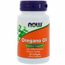 Now Foods Oregano Oil 90 Softgels GMP Quality Assured