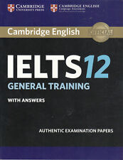 Cambridge English IELTS 12 GENERAL TRAINING with Answers @NEW@ 2017; Book only!