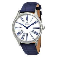 Omega De Ville Esfera Blanca Reloj De Damas 428.18.39.60.04.001