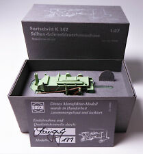 BUSCH Manufaktur-Modell Fortschritt Stiften - Dreschmaschine K 142 # 59995 /171
