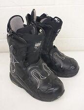 Burton IROC High-Quality All-Mountain Black Leather Snowboard Boots US 9 EU 41