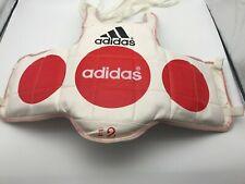 Adidas #2 Reversible Martial Arts, Karate, TKD,  Rib / Chest Guard size Small