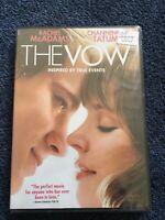 DVD The Vow BRAND NEW Drama Michael Sucsy Rachel McAdams Channing Tatum Romance