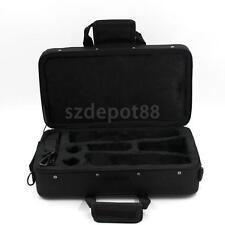 PRO Clarinet Carrying Case Nylon Padded Gig Bag w Side Pocket Shoulder Strap