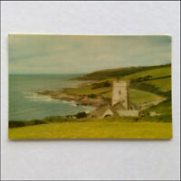 Wembury Bay St Werburgh's Church Devon 1979 Postcard (P361)