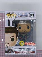 Funko Pop Tony Stark #449 (Glow) GITD Target Avengers Endgame Iron Man O03